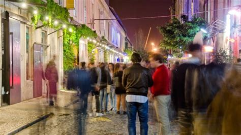 Nightlife in Lisbon and in Porto