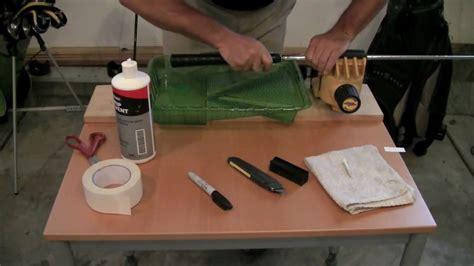 How to Install a JumboMax® Golf Grip - YouTube