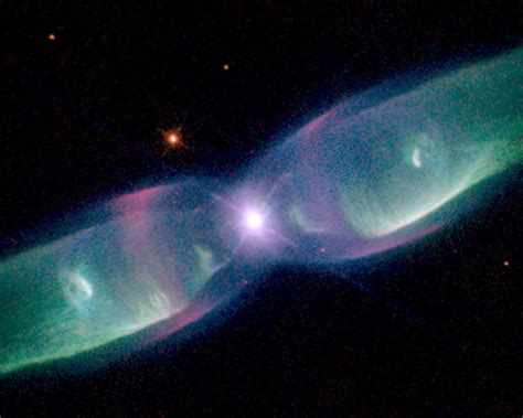 Hubble sees supersonic exhaust from nebula | ESA/Hubble
