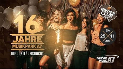 Party - 16 Jahre Musikpark A7 Hosted by Jay Frog