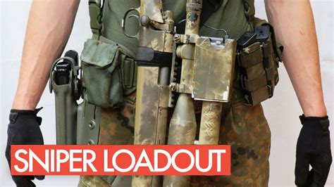 Airsoft Sniper Loadout | Gear | Equipment - YouTube