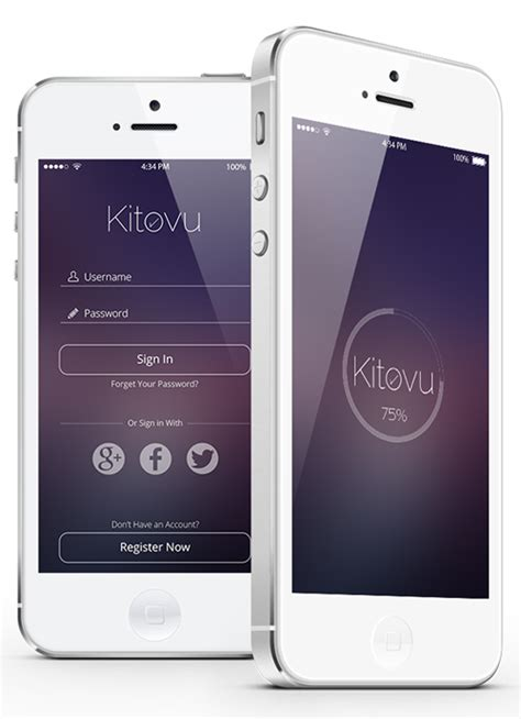 Modern Mobile App UI Designs with UUX   Inspiration