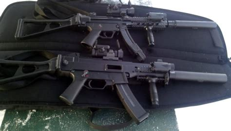 Pair of Nines (MP5 and USC/UMP with SEF Tactical 9mm