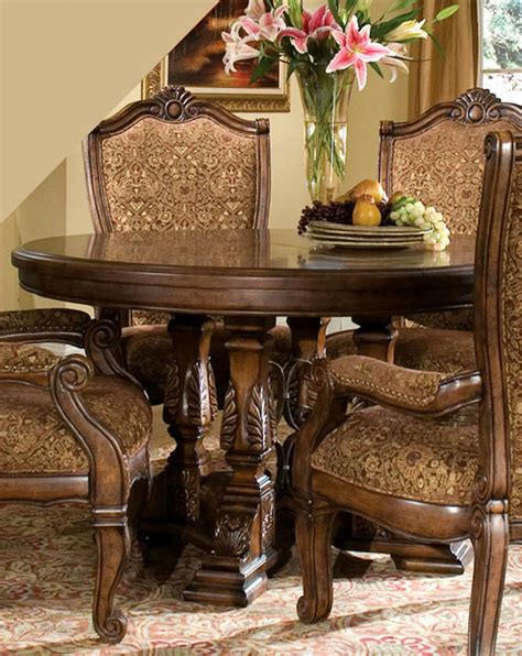 AICO Round Dining Table Windsor Court AI-70001TB