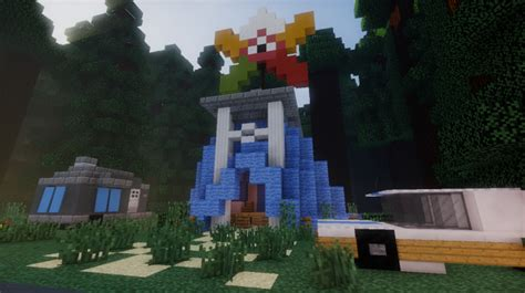 Gravity Falls Accurate Recreation Map Minecraft Map