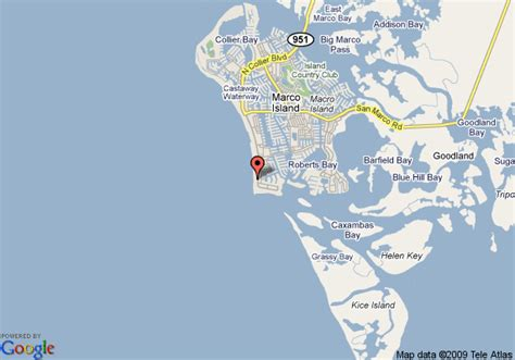 Map of Seawinds By Vacationclick, Marco Island