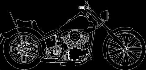 Moto in AutoCAD | Download CAD free (272