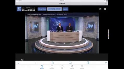 How to Download and Save JW Broadcasting Videos (tv