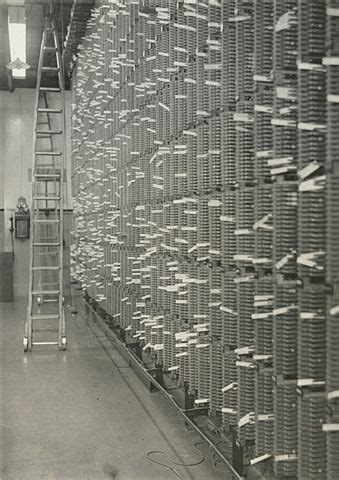 File:Main distribution frame of the telephone exchange