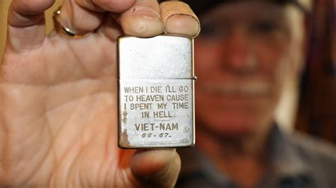Lost and Found Vietnam Zippo Lighter - YouTube