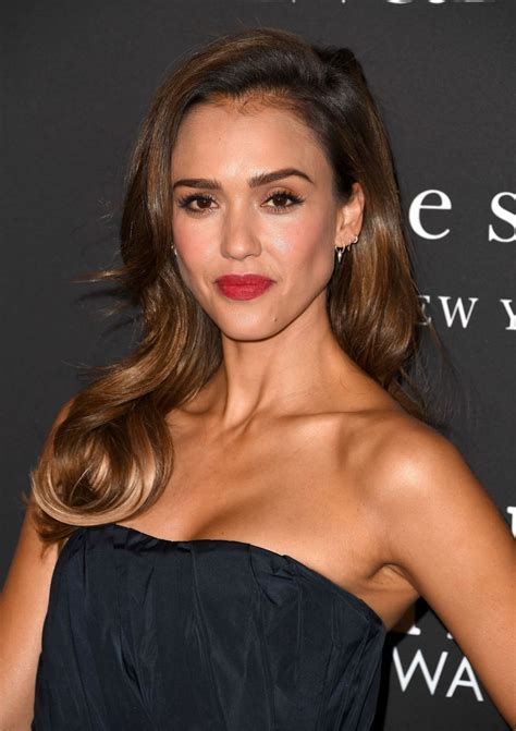 JESSICA ALBA at 2019 Instyle Awards in Los Angeles 10/21