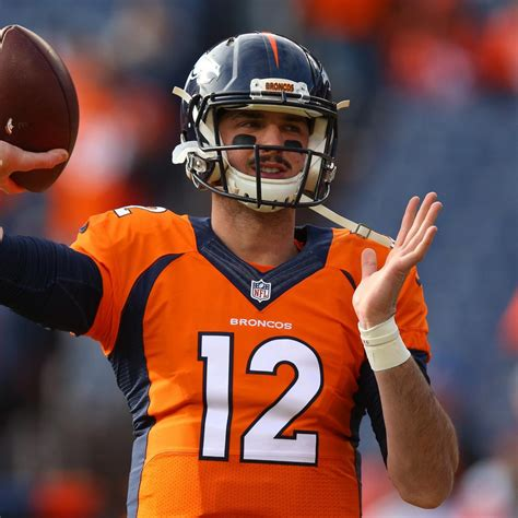Paxton Lynch Seen with Arm in Sling Due to Shoulder Injury