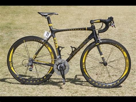 Lance Armstrong Bike Set Up To Avoid Back Pain - YouTube