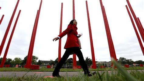 Red Pole Park art installation opens in Southfield