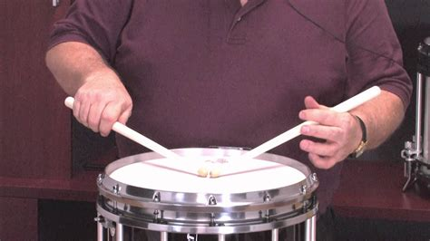 Snare Drumming: Left Hand Control - YouTube