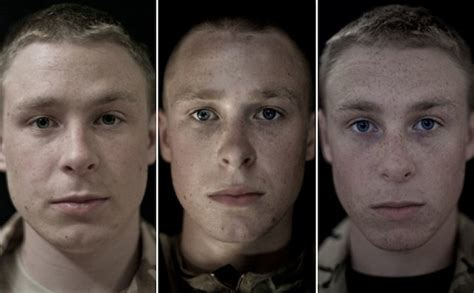 Soldiers' Faces Before, During and After War - Earthly Mission