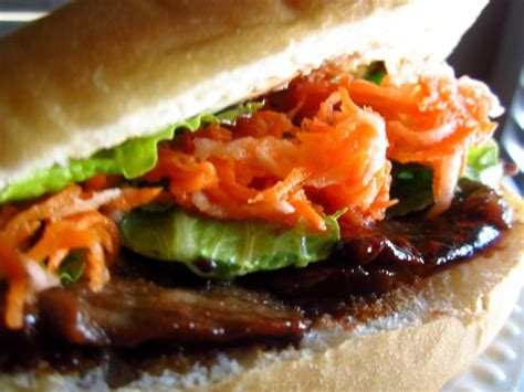 Vietnamese Banh Mi Sandwich With Grilled Beef Recipe