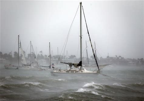 Hurricane Irma Faces Off With Florida