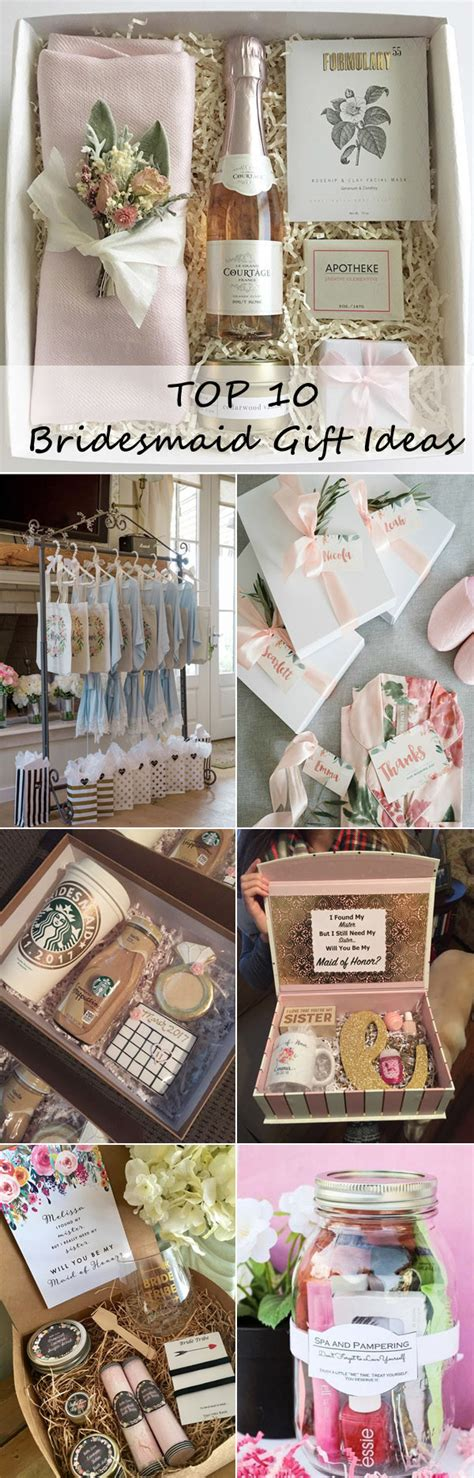 Top 10 Bridesmaid Gift Ideas Your Girls Will Love - Oh