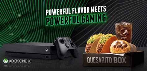 Taco Bell Xbox One X Contest - Win Prize Bundle Every 10