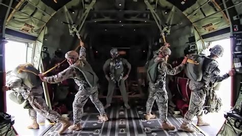 173rd Airborne Paratroopers Jump Over Latvia - YouTube