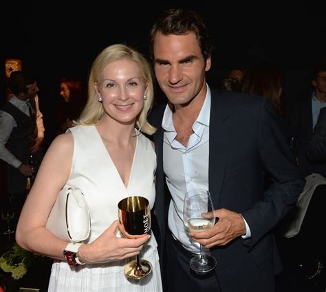 Roger Federer and Kelly Rutherford Photos Photos - Moet