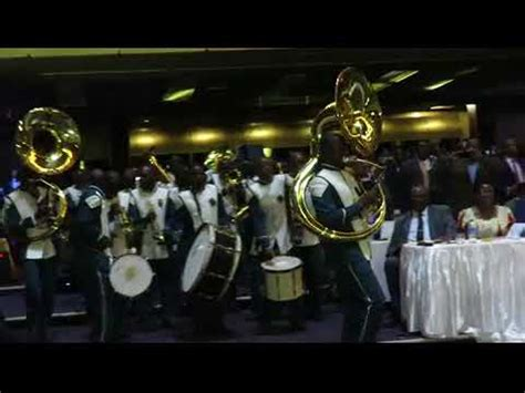 ZCC brass band excite Pres Emmerson Mnangagwa - YouTube