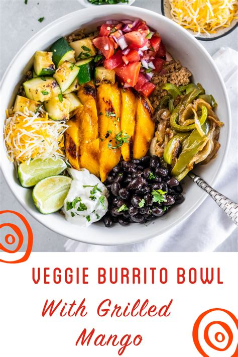 Veggie Burrito Bowls with Grilled | Recipe (With images