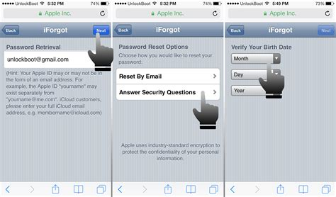 How to Reset iCloud Password From Your iPhone or iPad