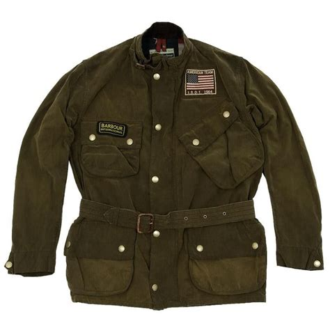 Barbour Steve McQueen Rexton Jacket (Olive) available at