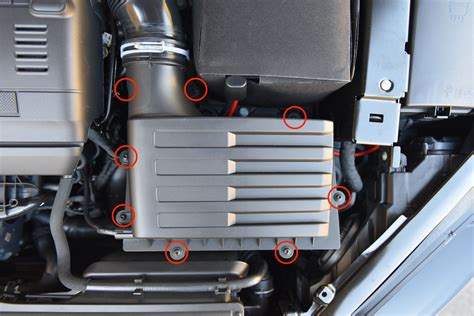 Changing Air Filter – MK7 Golf R – AutoInstruct