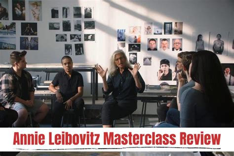 Is the Annie Leibovitz MasterClass worth it? - Course