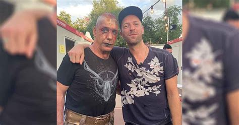 It looks like TIll Lindemann of Rammstein could actually