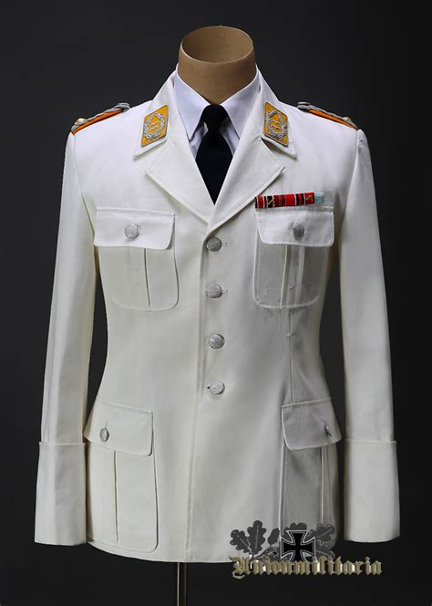 High Quality Luftwaffe Officer White Tunic reproduction