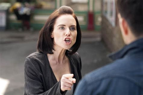 Hollyoaks: Cindy Cunningham confronts Dodger Savage over