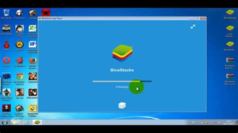 Bluestacks installing, Root with Bluestacks Easy and Lucky