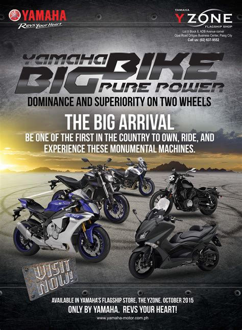 Yamaha Big Bikes Available Locally This October | Inside