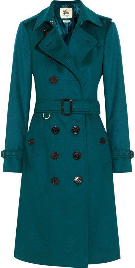Burberry London Brushed-Cashmere Trench Coat | Abrigos