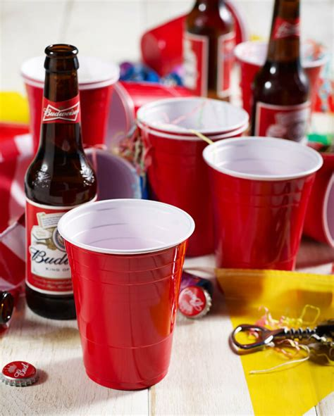 Amercian 16oz Plastic Red Party Cups (Beer Pong