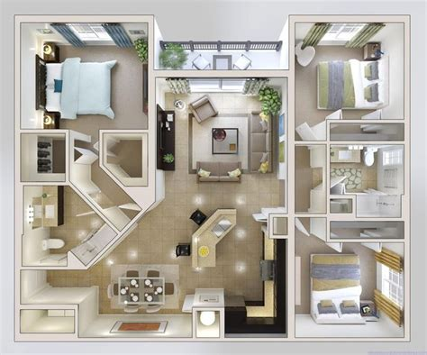 small 3 bedroom house plan from kendall | Haus design