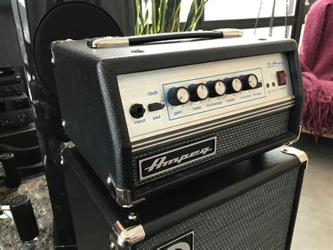 For Sale - Ampeg SVT Micro-VR Head - Has Issues   TalkBass