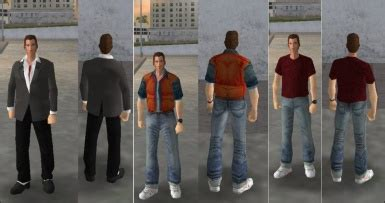 BTTF Marty McFly skins (GTA VC) at Grand Theft Auto: Vice