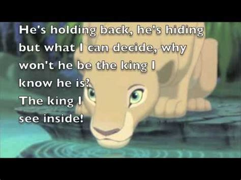Can You Feel the Love Tonight: The Lion King Lyrics - YouTube