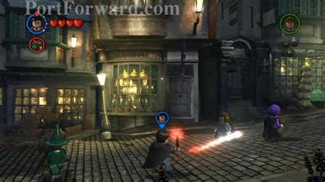 Lego Harry Potter: Years 1-4 Walkthrough !! REDUCTO SPELL