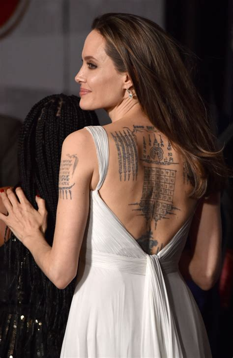Angelina Jolie Hits 'Dumbo' Red Carpet With Kids in a
