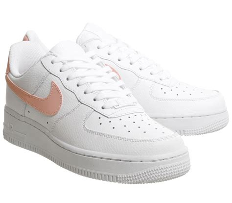 Nike Air Force 1 07 Trainers White Oracle Pink White