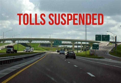 Tolls Suspended on Some Florida Highways Ahead of