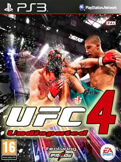 UFC 4: Undisputed PlayStation 3 Box Art Cover by
