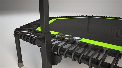 Deluxe   Trampoline   Jumping Fitness