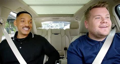 Watch Will Smith and James Corden Get Jiggy With It On